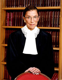 Ruth Bader Ginsburg, Collection of the Supreme Court of the United States, Photographer: Steve Petteway