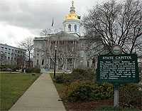 New Hampshire State House (Photo credit: Nicopoley, Wikimedia Commons)