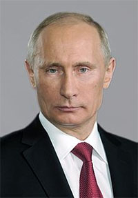 Vladimir Putin. Photo courtesy www.kremlin.ru